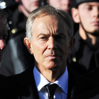Tony Blair in Sunday Commemorating Sacrifices of The Armed Forces