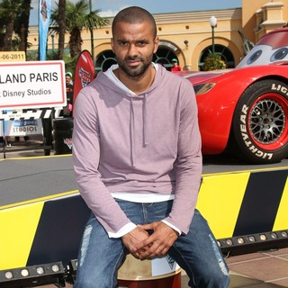 Tony Parker in The French Premiere of Cars 2 - Arrivals