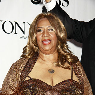 Aretha Franklin in The 64th Tony Awards - Arrivals