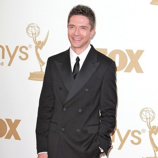 Topher Grace in The 63rd Primetime Emmy Awards - Arrivals