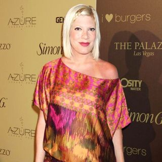 Tori Spelling in Simon G Summer Soiree
