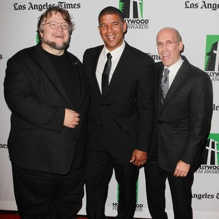 Guillermo del Toro, Peter Ramsey, Jeffrey Katzenberg in 16th Annual Hollywood Film Awards Gala