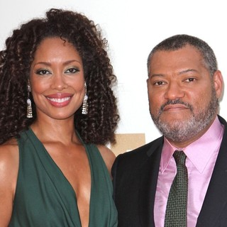 Laurence Fishburne in The 63rd Primetime Emmy Awards - Arrivals - torres-fishburne-63rd-primetime-emmy-awards-01