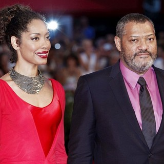 Laurence Fishburne in The 68th Venice Film Festival - Day 4 - Contagion - Premiere- Arrivals - torres-fishburne-68th-venice-film-festival-01