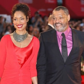 Laurence Fishburne in The 68th Venice Film Festival - Day 4 - Contagion - Premiere- Arrivals - torres-fishburne-68th-venice-film-festival-02