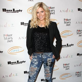 Torrie Wilson in Lupus LA Raises Awareness with Get Lucky for Lupus