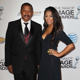 Robert Townsend, Skye Townsend in The 44th NAACP Image Awards