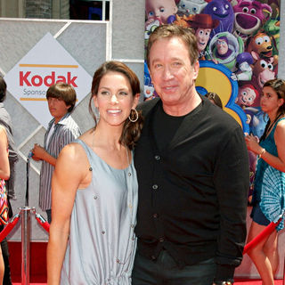 Jane Hajduk, Tim Allen in Los Angeles Premiere of Walt Disney Pictures 'Toy Story 3' - Arrivals