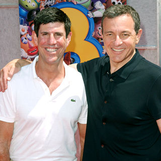 Rich Ross, Robert A. Iger in Los Angeles Premiere of Walt Disney Pictures 'Toy Story 3' - Arrivals