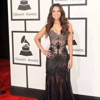 Tracey Edmonds in 57th Annual GRAMMY Awards - Arrivals