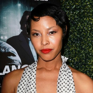 Tracey Heggins in The Lionsgate Home Entertainment and Grindstone VIP Screening of Freelancers