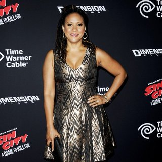 Tracie Thoms in Los Angeles Premiere of Sin City: A Dame to Kill For