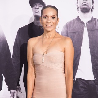 Tracy Jernagin in World Premiere of Universal Pictures' Straight Outta Compton - Arrivals