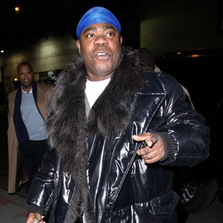 Tracy Morgan in Celebrities for The Late Show with David Letterman
