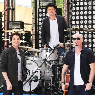 Train in Train Performing Live During The Today Show Summer Concert Series