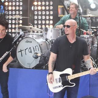 Train Performs Live as Part of The Toyota Concert Series on NBC's Today