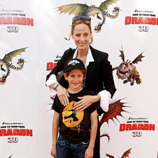 Kim Raver in Los Angeles Premiere of 'How to Train Your Dragon'