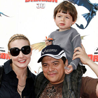 Carlos Mencia in Los Angeles Premiere of 'How to Train Your Dragon'
