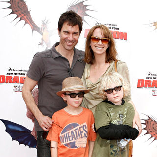 Eric McCormack in Los Angeles Premiere of 'How to Train Your Dragon'