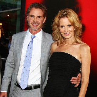 Sam Trammell, Missy Yager in Premiere of HBO's True Blood Season 6 - Arrivals