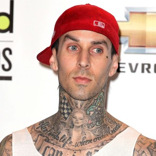 Travis Barker, Blink-182 in The 2011 Billboard Music Awards - Press Room