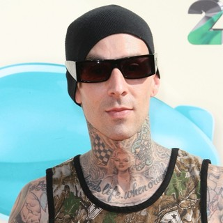 Travis Barker, Blink-182 in 2012 Kids' Choice Awards - Arrivals