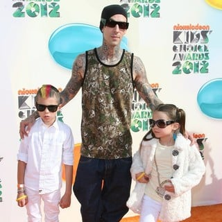 Travis Barker in 2012 Kids' Choice Awards - Arrivals