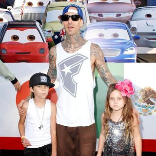 Travis Barker in The Los Angeles Premiere of Cars 2 - Arrivals