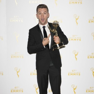 Travis Wall in 2015 Creative Arts Emmy Awards - Press Room