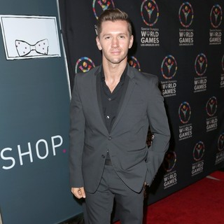 Travis Wall in Special Olympics World Games: Los Angeles 2015 - Celebrity Dance Challenge