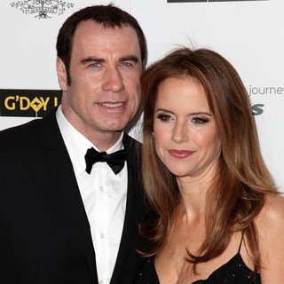 John Travolta, Kelly Preston in 9th Annual G'Day USA Gala - Arrivals
