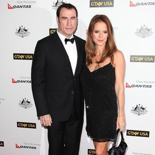 Kelly Preston in 9th Annual G'Day USA Gala - Arrivals - travolta-preston-9th-aAnnual-g-day-usa-gala-03
