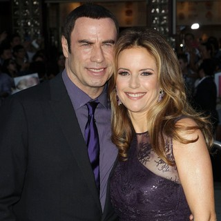 Kelly Preston in The Premiere of Savages - travolta-preston-premiere-savages-02