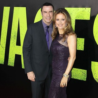 Kelly Preston in The Premiere of Savages - travolta-preston-premiere-savages-03