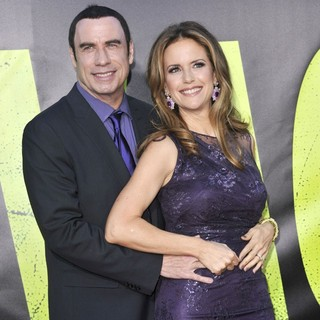 Kelly Preston in The Premiere of Savages - travolta-preston-premiere-savages-04