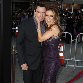 Kelly Preston in The Premiere of Savages - travolta-preston-premiere-savages-05