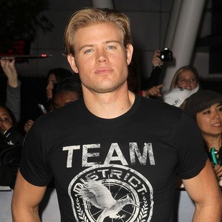 Trevor Donovan in The Premiere of The Twilight Saga's Breaking Dawn Part II