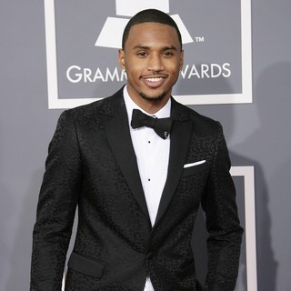 Trey Songz in 55th Annual GRAMMY Awards - Arrivals