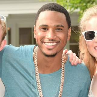 Trey Songz - Filming A Video for That's My Best Friend