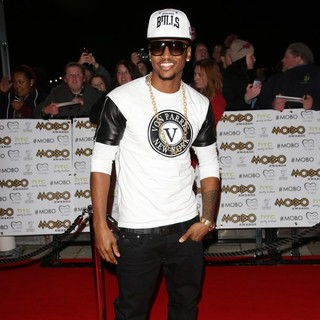 Trey Songz in The MOBO Awards 2012 - Arrivals
