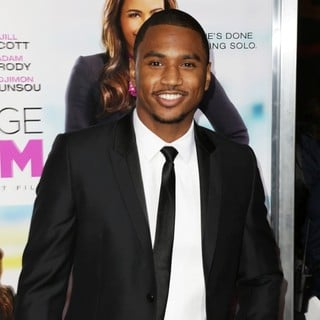 Trey Songz in Baggage Claim Premiere