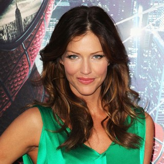 Tricia Helfer in Los Angeles Premiere of The Amazing Spider-Man - Arrivals