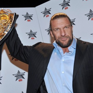 Triple H in WrestleMania 25th Anniversary Press Conference - triple-h-wrestlemania-25th-anniversary-01