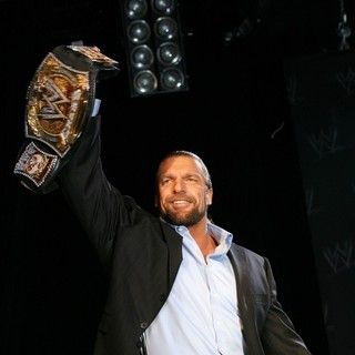 Triple H in WrestleMania 25th Anniversary Press Conference - triple-h-wrestlemania-25th-anniversary-03