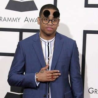 Tristan Wilds in The 56th Annual GRAMMY Awards - Arrivals