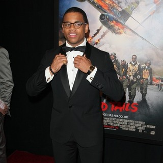 Tristan Wilds in The New York Premiere of Red Tails - tristan-wilds-red-tails-ny-premiere-02