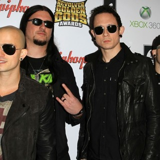 Trivium in 2012 Revolver Golden Gods Awards Show