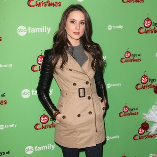 Troian Bellisario in ABC Family's 25 Days of Christmas Winter Wonderland Event