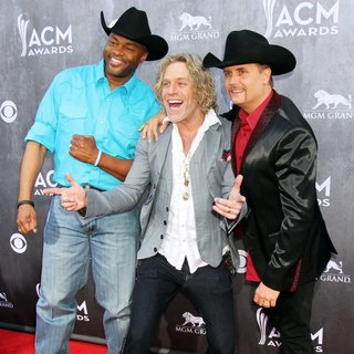 Big & Rich in 49th Annual Academy of Country Music Awards - Arrivals - troy-big-rich-49th-annual-academy-of-country-music-awards-02