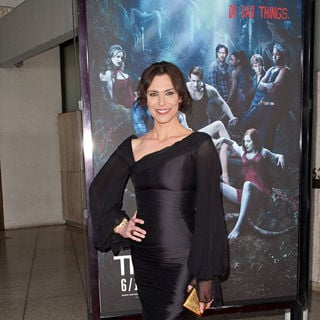 "Michelle Forbes in HBO's ""True Blood"" Season 3 Premiere - Red Carpet"